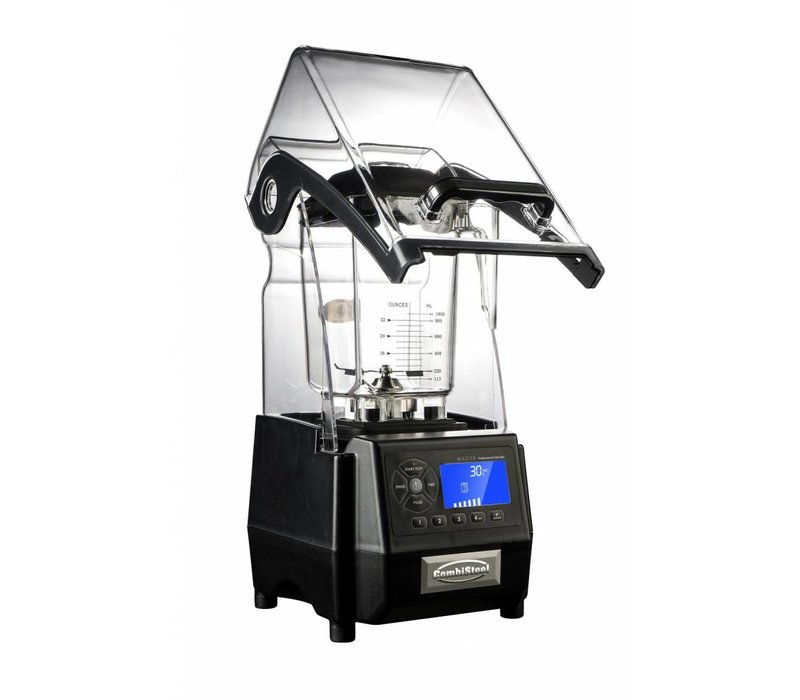 Combisteel Blender Met Geluiddempende kap   1.5 kW   2 Liter   220x260x(H)510mm
