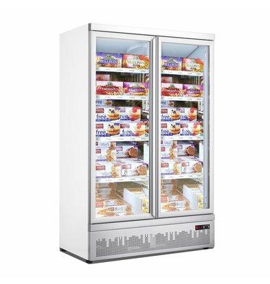 Combisteel Freezer 2 glass doors JDE-1000F