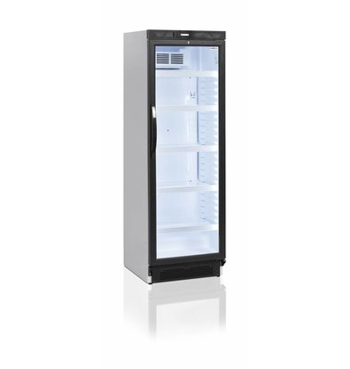 Display Fridge White | 347 liters LED lighting 595x640x (H) 1840mm