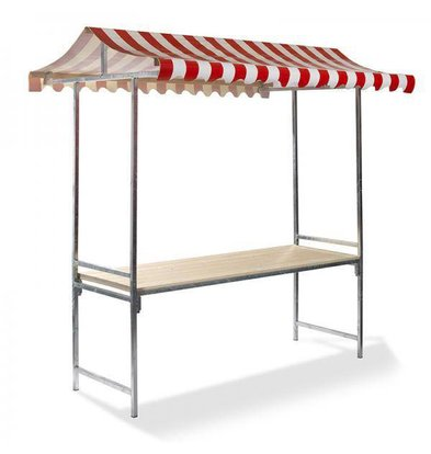 Professional Market Stall Complete Multiple Colors Available 2000x700x2320 (h) mm