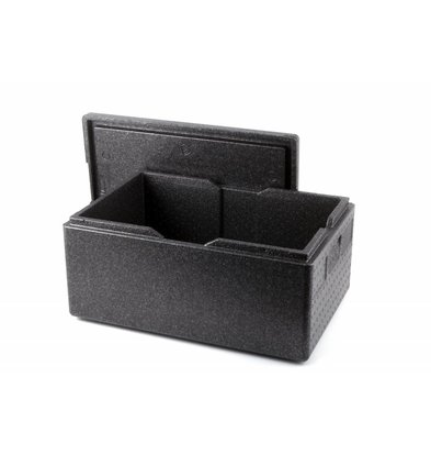 Hendi Thermobox Zwart | 1/1GN | 600x400x(H)285mm