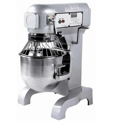 Combisteel Planet Mixer | 10 Liter | Tpm 100-178-355 | 0:45 kW | 452x432x (H) 606mm