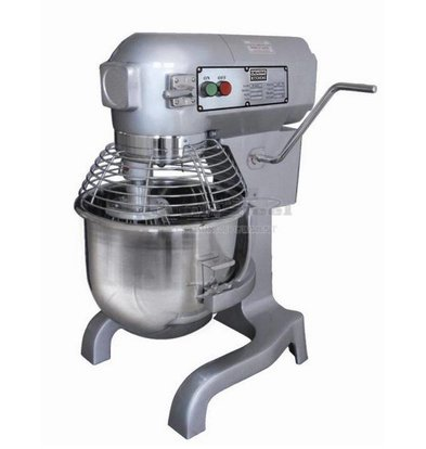 Combisteel Planet Mixer | 20 Liter | 104-187-365 Tpm | 1.1 kW | 530x496x (H) 780 mm