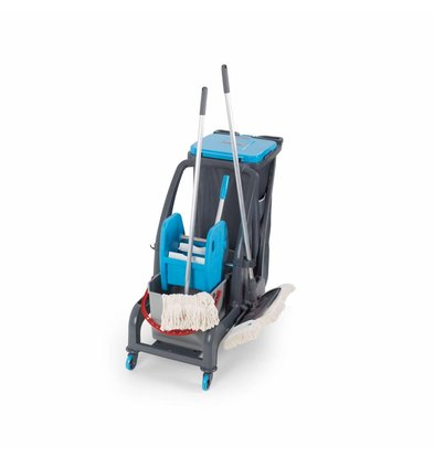 Combisteel Cleaning trolley Procart Jet 735S | 960x580x (H) 960mm