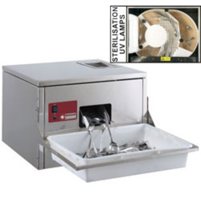 Diamond Cutlery Polisher for cutlery 3000/3500 p / hour Table model 570x550xh400mm