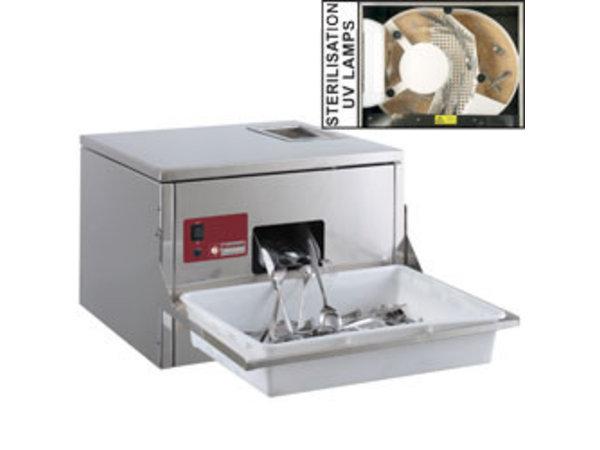 Diamond Besteck Poliermaschine für Besteck 3000/3500 p / Stunde Tischmodell 570x550xh400mm