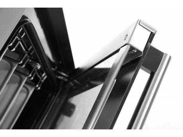 Hendi Heteluchtoven incl. 4 Trays| 230V/ 2,67kW | 595x595x570(h)mm