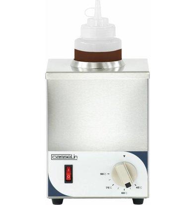Casselin Chocolade /  Sauzen  Flessen Warmer | 1 Liter |  200W | 170x165x(H)230mm