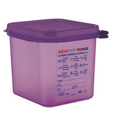 Araven Anti-allergenic Purple Food Box