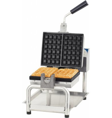 Casselin Pivoting Brussels Waffle maker | 1800W | 386x580x (H) 305mm