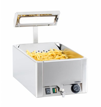 Casselin Frites Warming Device 1/1 GN | Ceramic Element 330x540x (H) 500mm