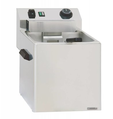 Casselin Pastakoker Elektrisch | Tafelmodel | 3400W | 270x420x(H)300mm | Beschikbaar in 1 of 3 Mandjes