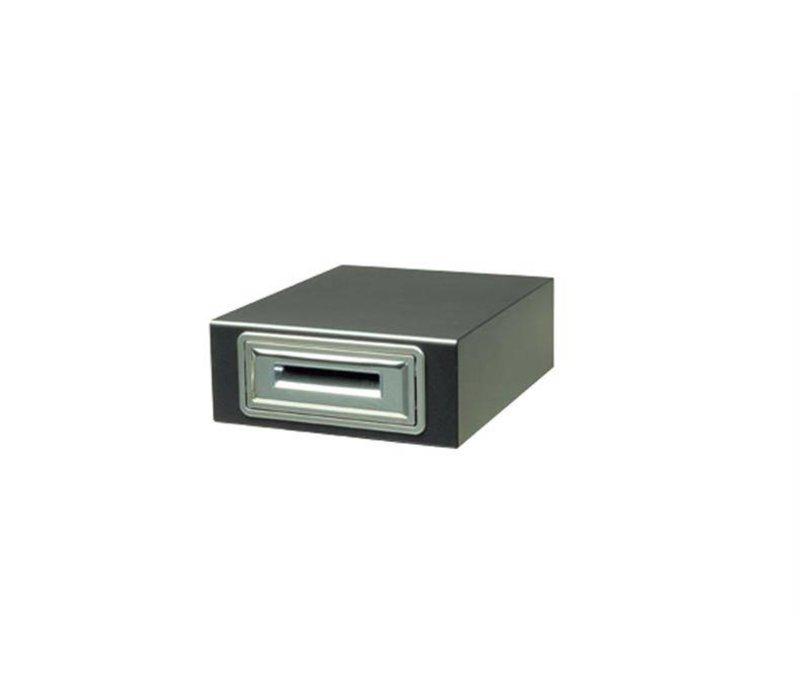 Ronda Uitkloplade RVS | Regelbare Steunen | 410x440x(H)200mm