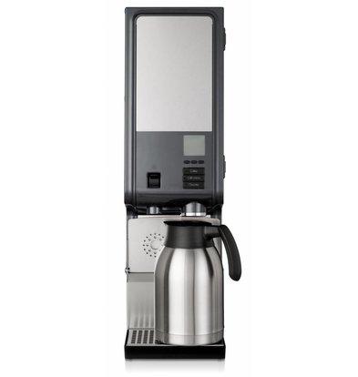 Bravilor Bonamat Koffiezetapparaat |Bolero 2 3kW | 2 Canisters | Wateraansluiting | 203x429x(H)584mm