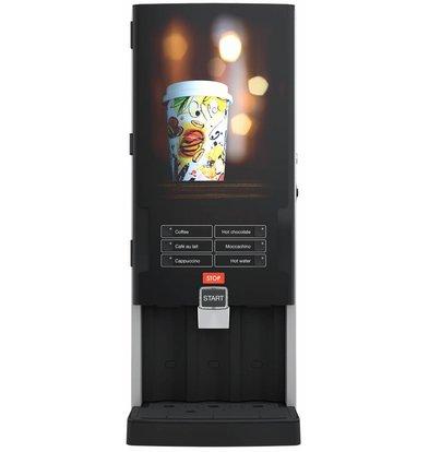 Bravilor Bonamat Koffizetapparaat | Bolero Turbo 331 | 6 Warme Dranken | 339x538x(H)812mm