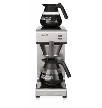Bravilor Bonamat Koffiezetapparaat | Mondo 2 | Filterkoffie | 2 Glazen kannen | 195x406x(H)446cm