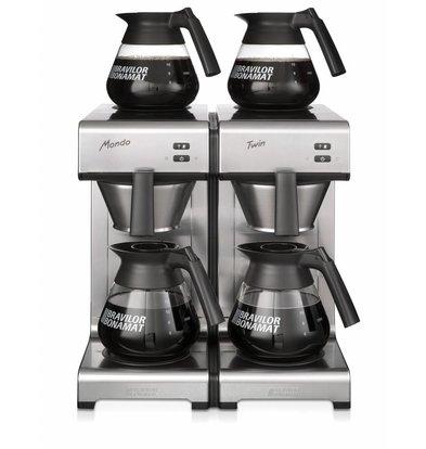 Bravilor Bonamat Koffiezetapparaat | Mondo Twin | Duo | Snelfilter | 404x406x(H)446 mm