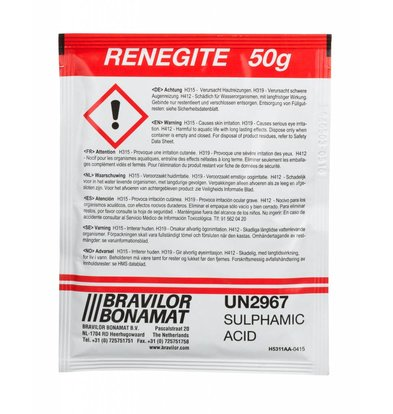 Bravilor Bonamat Ontkalkingszout | Renegite | 4x 15 a 50g