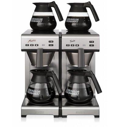 Bravilor Bonamat Koffiezetapparaat | Matic Twin | Filterkoffie | Dubbel zet systeem | 404x406x446 mm