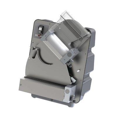 Diamond Pizzadeegroller Ø300mm | 2 roles | 230V | 420x420x650 (h) mm