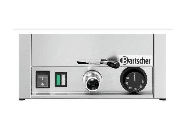 Bartscher Multi-Braadslede 300 | RVS | Aftapkraan met Bajonetsluiting | 330x580x(H)330mm