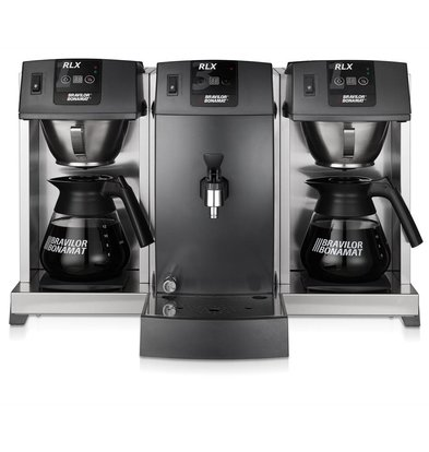 Bravilor Bonamat Koffiezetapparaat | RLX 131 | 2 Zetsystemen + warmhoudplaten | 705x509x448 mm