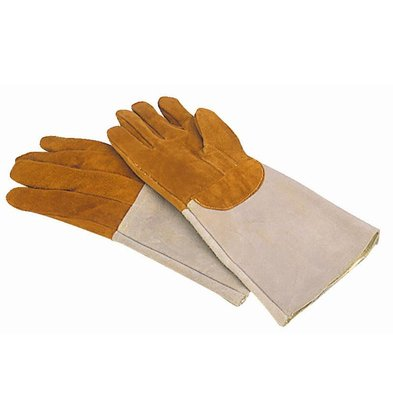 Matfer Oven Glove Leather | Resistant to 300C