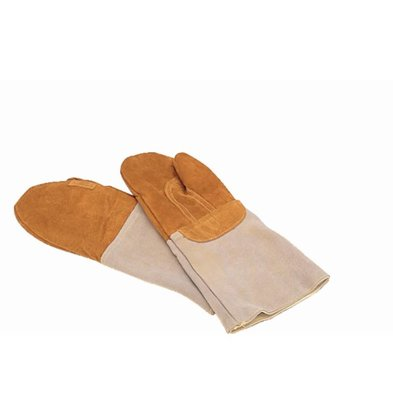 Matfer Oven Glove Leather | Mittens Bakers | 42cm