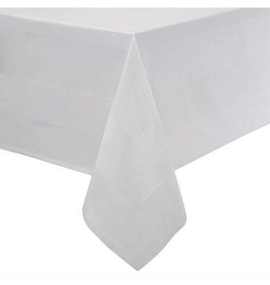 Mitre Essentials Tischdecke Satinband | Weiß 100% Baumwolle Erhältlich in 10 Größen