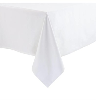 Mitre Essentials Miter Essentials Ocassions Tablecloth White 100% polyester Available in 5 sizes