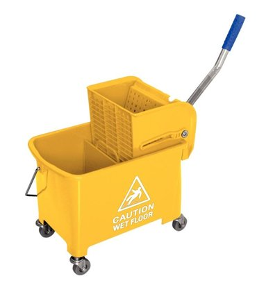 Jantex Mop bucket with wringer - 3 colors - 350x280x (H) 480mm