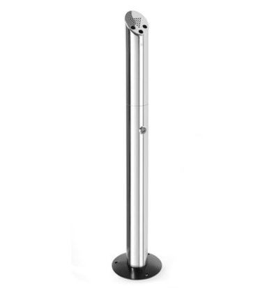 Hendi Standing Column Ashtray | Ø80mmx (H) 920mm Stand Free Or Mounted On Floor