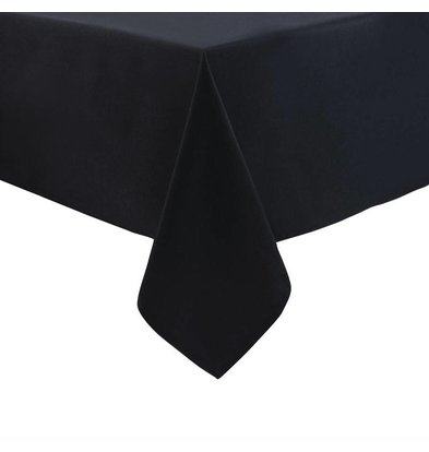 Mitre Essentials Ocassions Tablecloth Black 100% polyester Available in 4 sizes