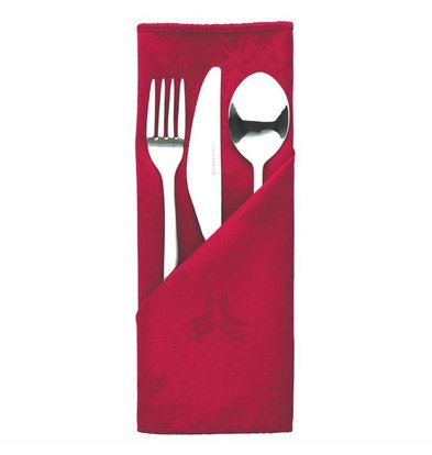 Mitre Luxury Cutlery pouches / Napkins Traditions | Bordeaux 56x516cm | Per 10 pieces