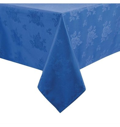Mitre Luxury Tablecloth Traditions | Blue | 100% polyester Available in 4 sizes
