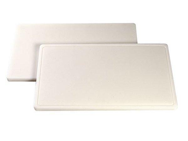 Caterchef Snijplanken DPE 500 - geul - 4(H)x50x30cm - 6 kleuren
