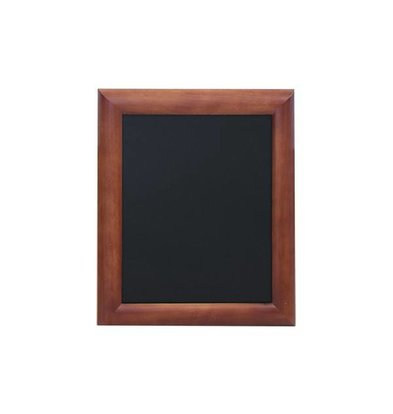 Securit Wall chalkboard Dark Brown - 5 Sizes