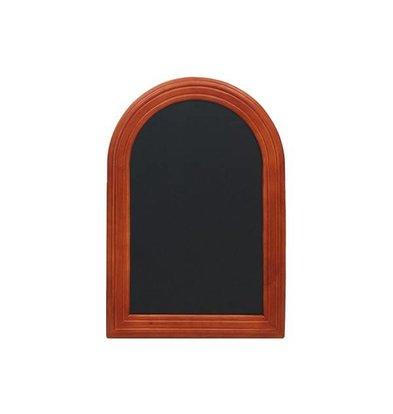 Securit Wall chalkboard Rondo Mahogany - 3 Sizes
