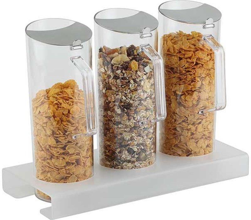 APS FSE 4-delige Cereal Bar |  380x155(H)40mm