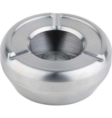 APS Asbak RVS | Stapelbaar | Met Windkap | Ø10cm