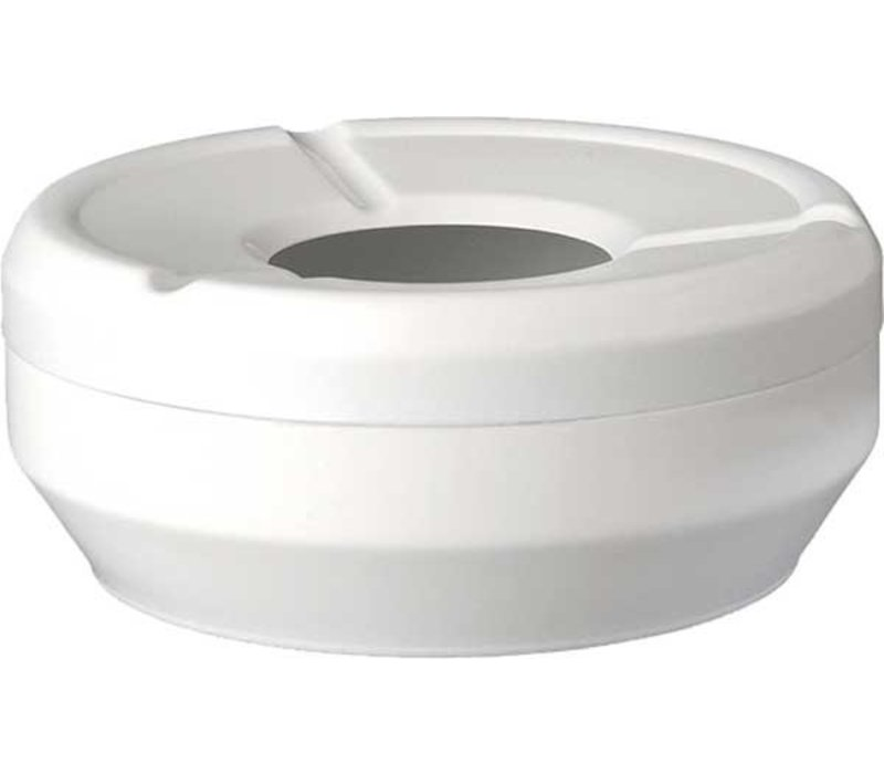 APS FSE Asbak | Melamine Wit | Stapelbaar | Ø10x(H)4cm