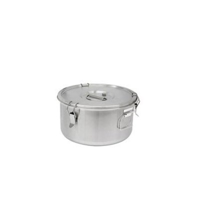 Thermosteel Thermosteel | Soup container | 10 liters Side handles Double-walled stainless steel AISI 304 | Ø30cm x (h) 22.5cm