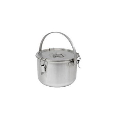 Thermosteel Thermosteel | Soup container | 10 liters With bracket | Double-walled stainless steel AISI 304 | Stackable Ø30cm x (h) 22.5cm