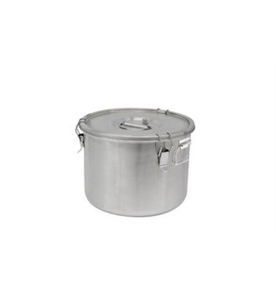Thermosteel Thermostal Soup container | 20 liters Side handles Double-walled stainless steel AISI 304 | Ø36cm x (h) 28.5cm