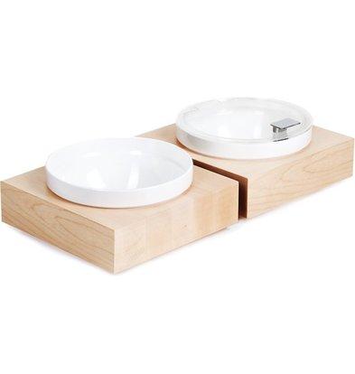 APS FSE Buffet Box Vierkant Groot | Inclusief witte Melamine Kom | 26,5x26,5x(H)8,5cm