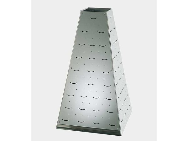 APS FSE Buffet Pyramide Large   RVS   30x30x(H)53cm