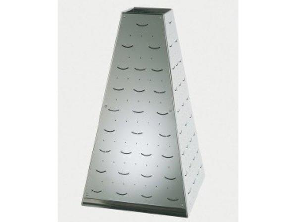 APS FSE Buffet Pyramide Medium | RVS | 22x22x(H)31cm