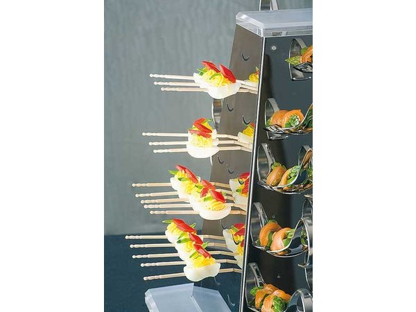 APS FSE Buffet Pyramide Set Large | RVS | 51x51x(H)55 cm