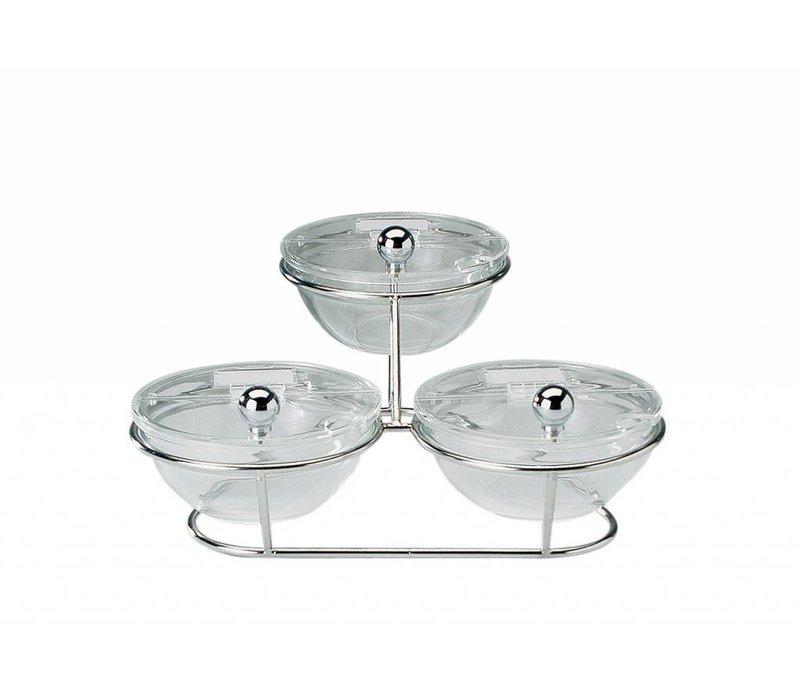 APS FSE Buffet Stand Little | 2 Traps Dienblad | 30x30x14cm