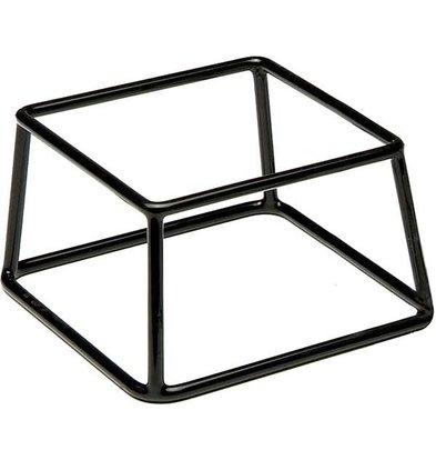 APS FSE Buffet Stand Multi | Metaal met Anti-slip Laag | Stapelbaar | 18x18x(H)10cm